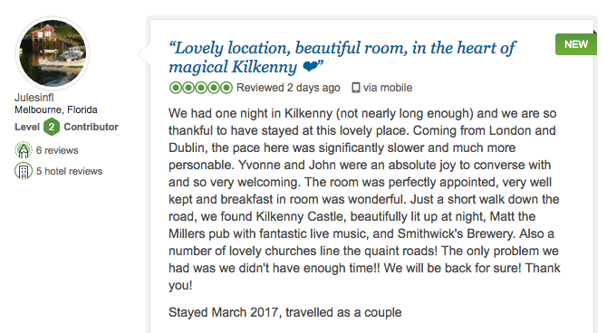 Butler Court Kilkenny Trip Advisor Reviews