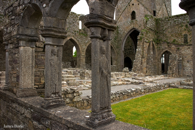 Jerpoint Abbey Cloisters, Thomastown, Kilkenny, Butler Court Kilkenny