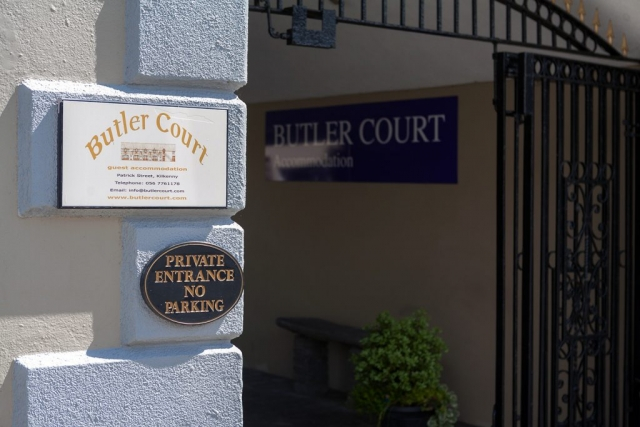 Secure gates at Butler Court kilkenny