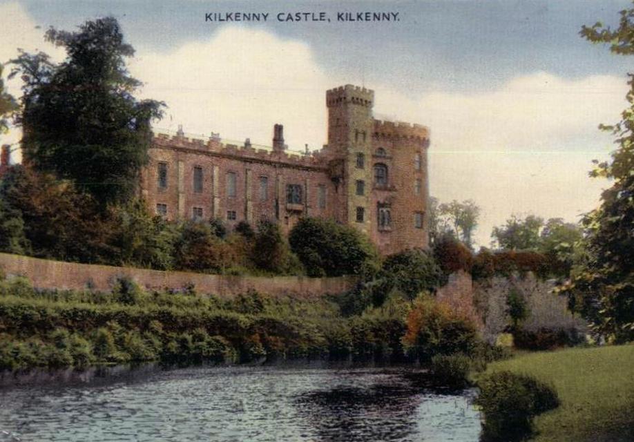 Kilkenny Castle postcard