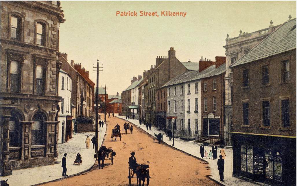 Historic Patrick Street Kilkenny, Butler Court Guest Accommodation, Kilkenny