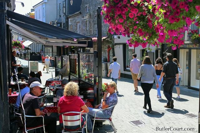 Medieval St Kieran's Street, Kilkenny