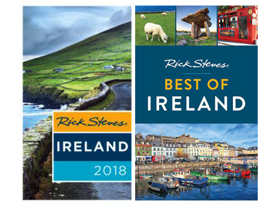 We are in Rick Steves Ireland 2018, Rick Steves Best of Ireland 2018